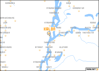 map of Kalôn