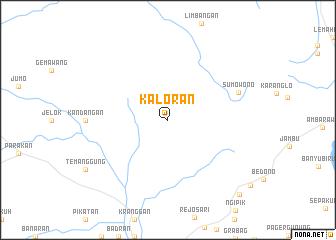 map of Kaloran