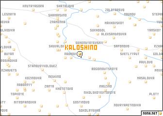 map of Kaloshino