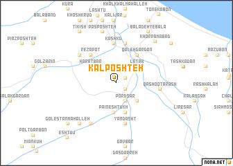 map of Kal Poshteh