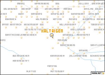 map of Kaltaigen