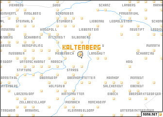 map of Kaltenberg