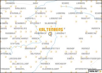 map of Kaltenberg