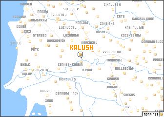 map of Kalush