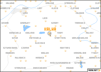 map of Kalwa