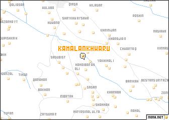 map of Kamalān Khwārū