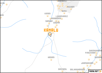 map of Kamālu