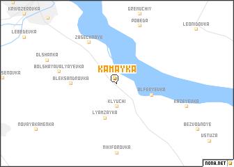 map of Kamayka