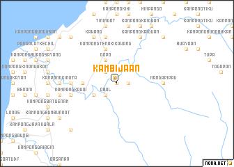 map of Kambijaan