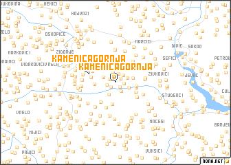map of Kamenica Gornja