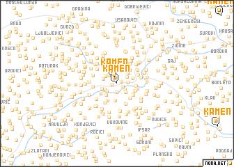 map of Kamen
