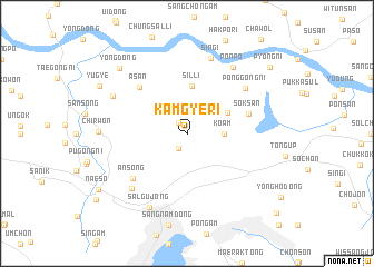 map of Kamgye-ri