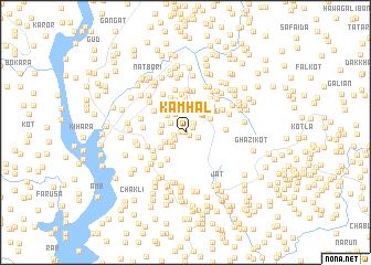 map of Kamhāl