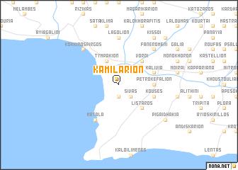 map of Kamilárion