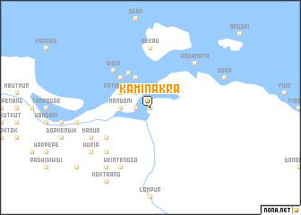 map of Kaminakra