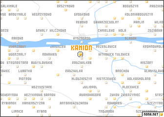 map of Kamion