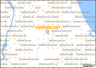 map of Kampong Chat