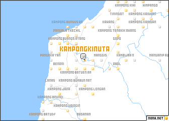 map of Kampong Kinuta
