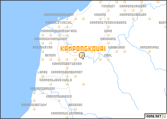 map of Kampong Kouai