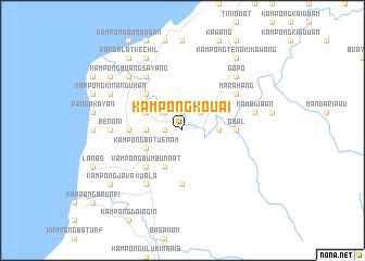 map of Kampong Kouai