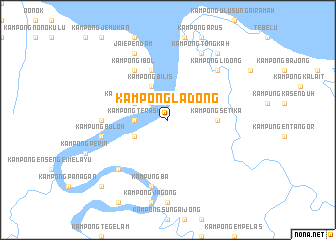 map of Kampong Ladong