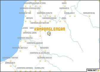 map of Kampong Lengan