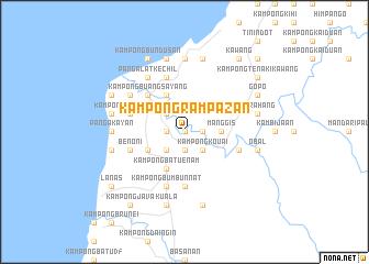 map of Kampong Rampazan