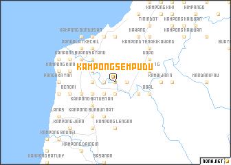 map of Kampong Sempudu
