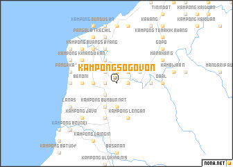 map of Kampong Sogovon