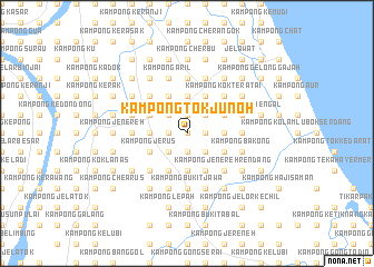 map of Kampong Tok Junoh