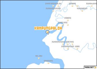 map of Kampung Paloh