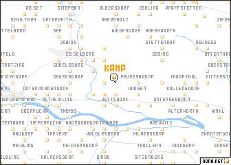 map of Kamp