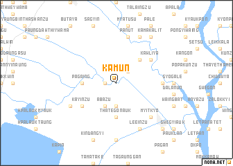 map of Kamun