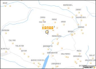 map of Kǝnǝ\