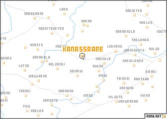 map of Kanassaare