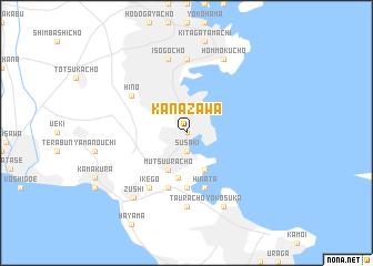 Kanazawa Japan Map Nonanet - Japan map kanazawa
