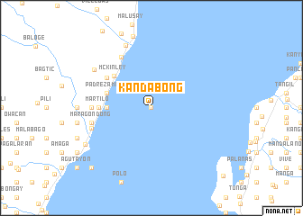 map of Kandabong