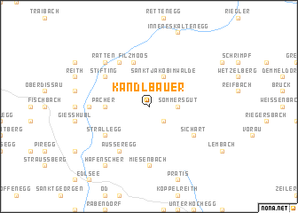 map of Kandlbauer