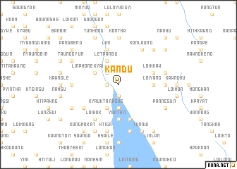 map of Kandu