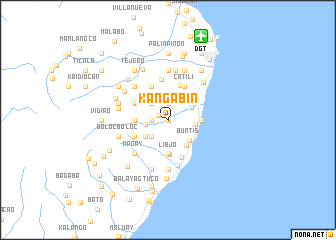 map of Kangabin