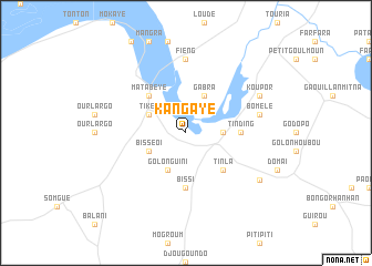 map of Kangaye