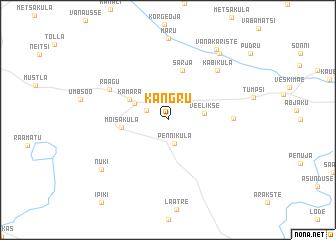 map of Kangru