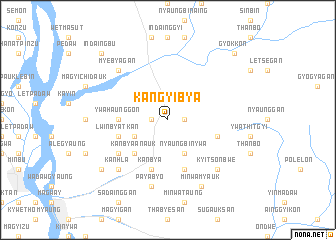 map of Kangyibya