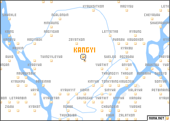 map of Kangyi