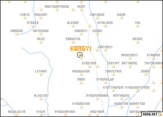 map of Kangyi