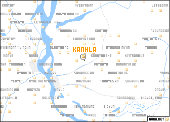 map of Kanhla