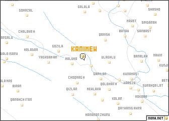 map of Kānī Mew