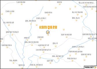 map of Kani Qara