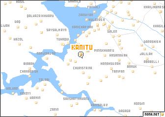 map of Kānī Tū