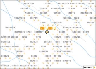 map of Kanjuku